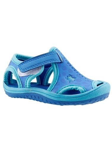 Ayakland Kids Aqua Si Erkek Çocuk Sandalet Panduf Ayakkabı Saks